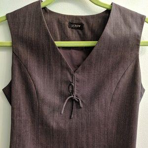 Classy J. Crew Suiting Vest Size 0P XS XXS